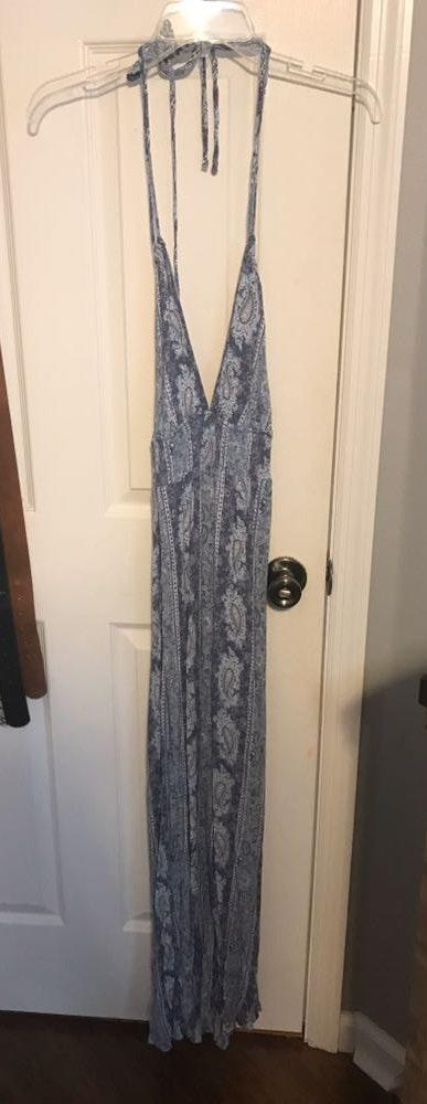 Dainty Hooligan Blue Maxi Dress