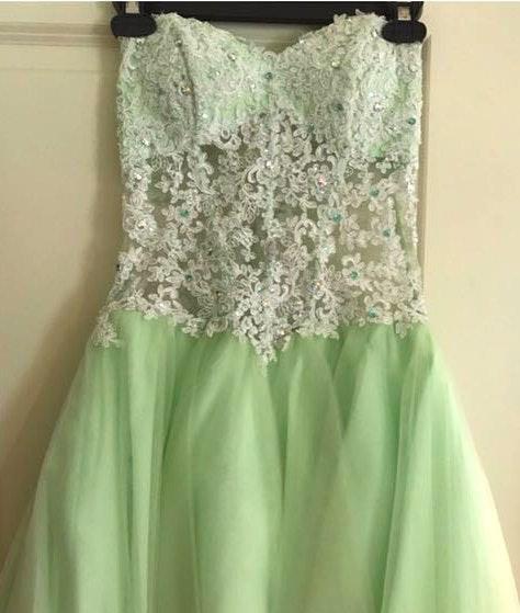 Blush Prom Formal Dress