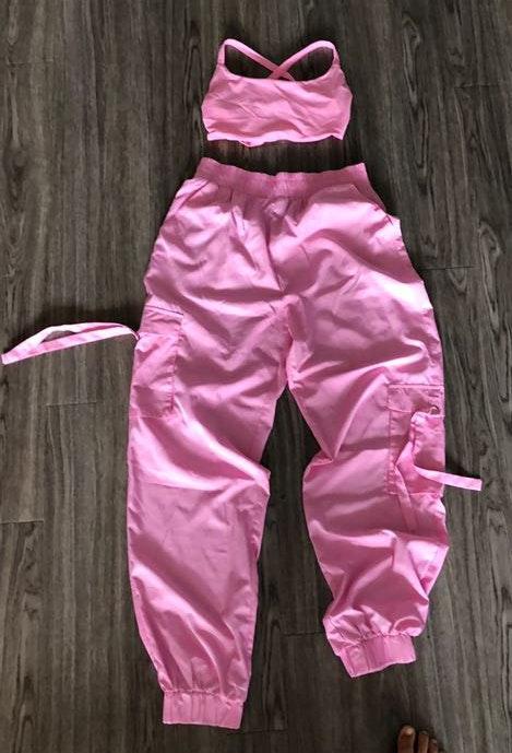 Tiger Mist Bubblegum Pink 2 Piece Set
