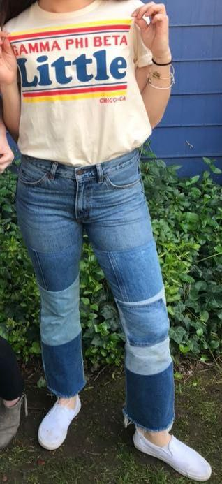 Levi's Patch Work Jeans
