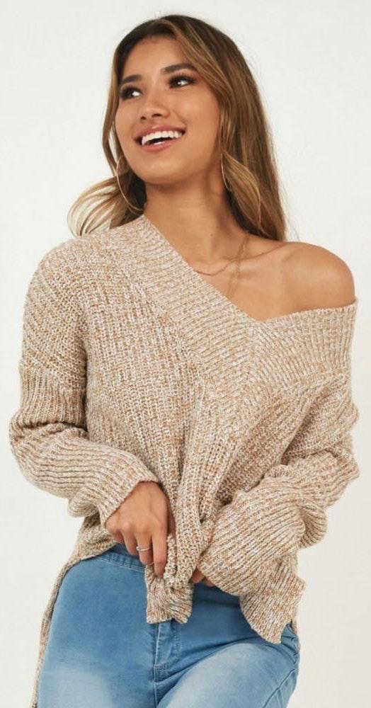 Showpo Carmel Sweater