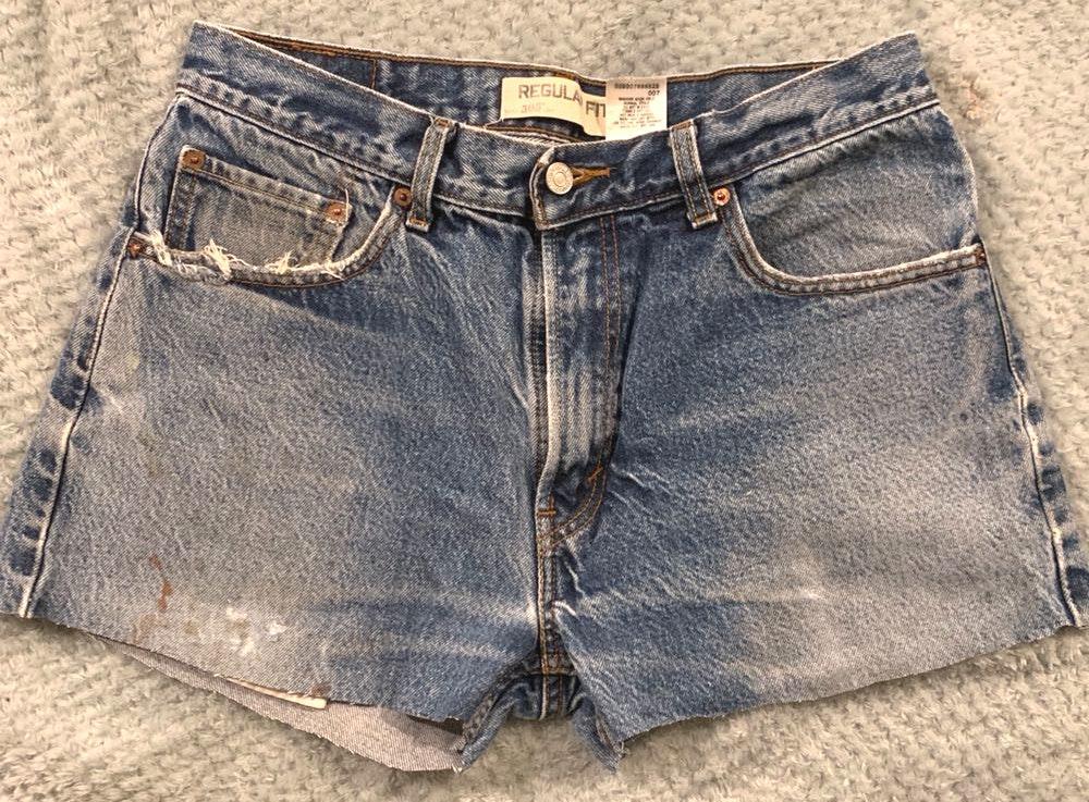 Levi's vintage jean shorts