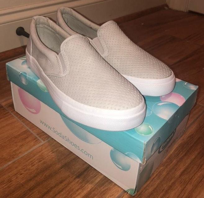 soda shoes Grey Tennis Shoes | Curtsy