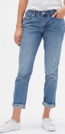 Gap Destructed Sexy Boyfriend Fit Jeans
