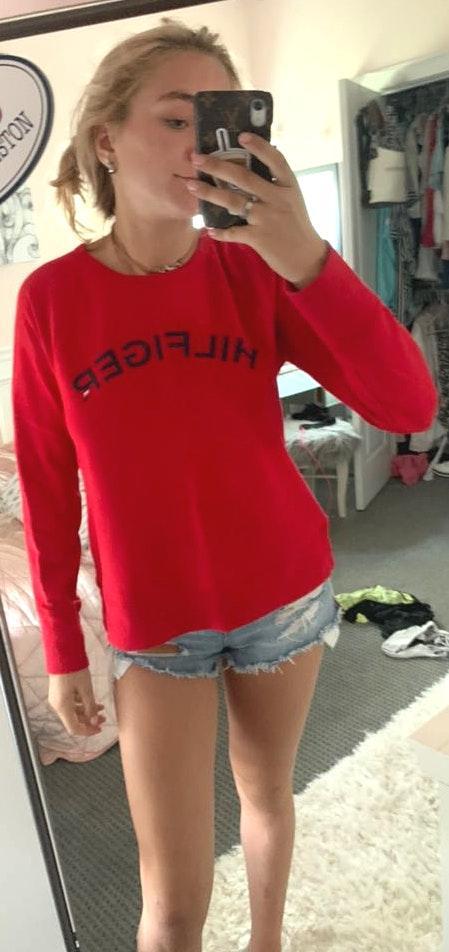 Tommy Hilfiger Red Tommy sweatshirt