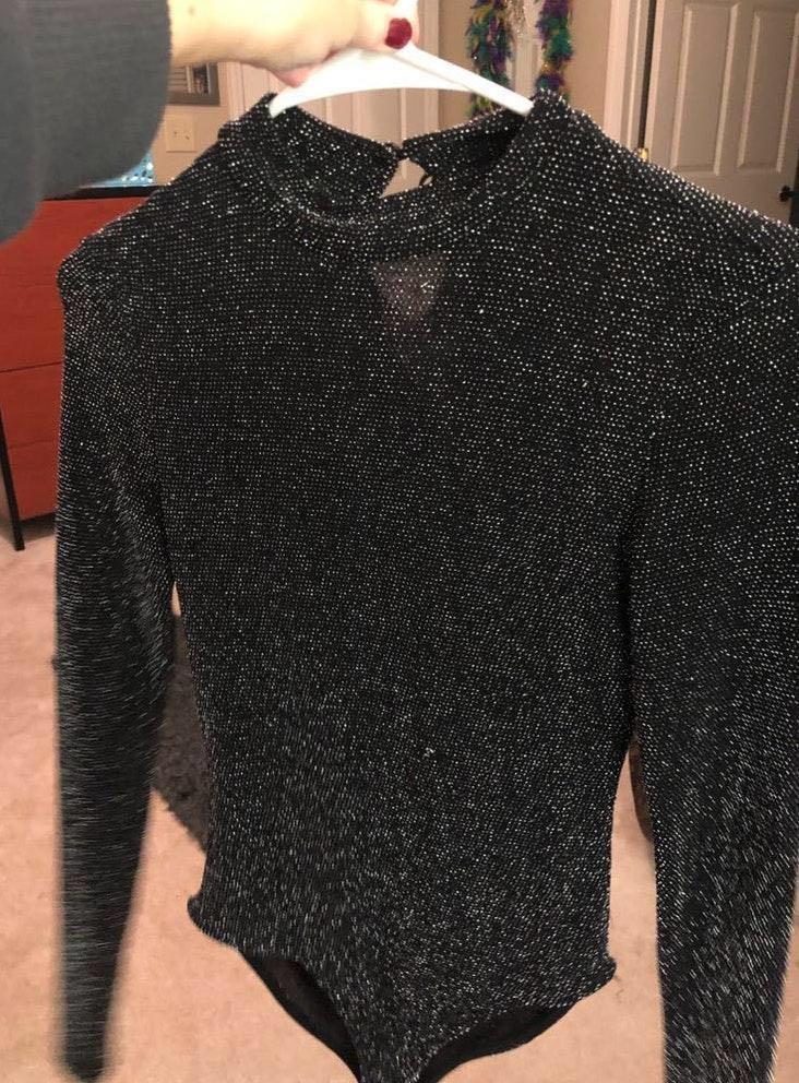 Forever 21 Sparkly Bodysuit