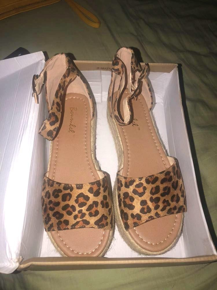 Dress Up Cheetah print espadrilles