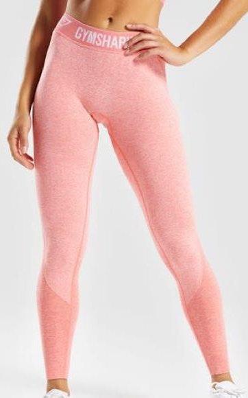 Gymshark Flex Leggings Peach