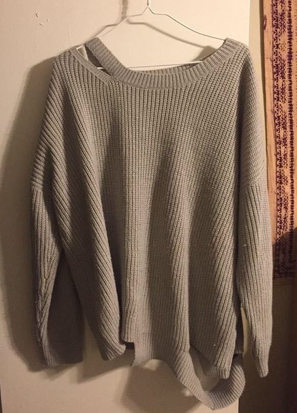 Lush Clothing Lush Distressed Sweater