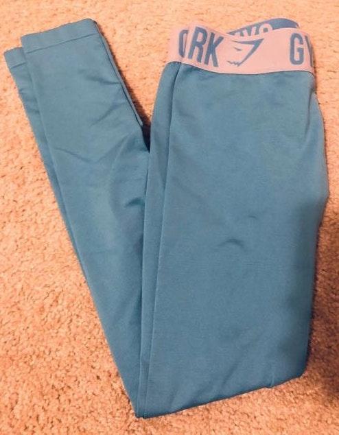 Gymshark Bright Blue  Leggings