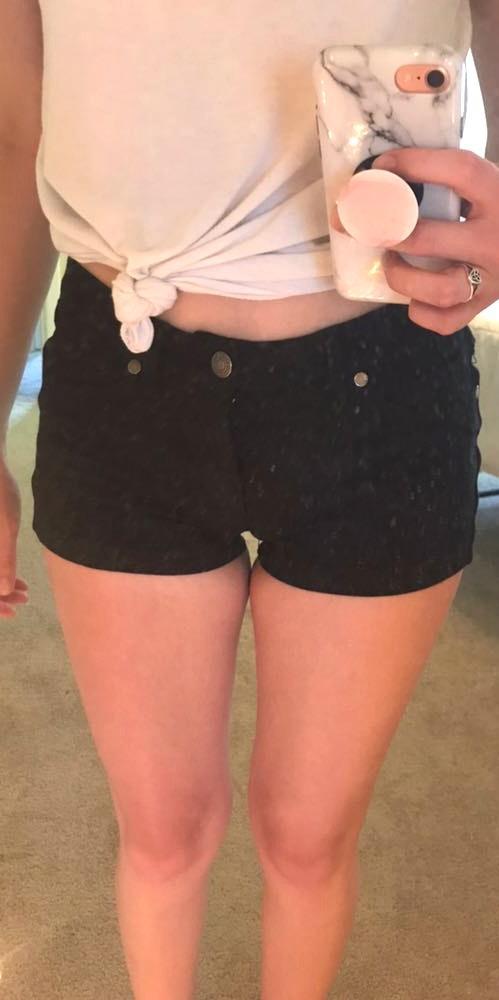 Active USA Black Shorts