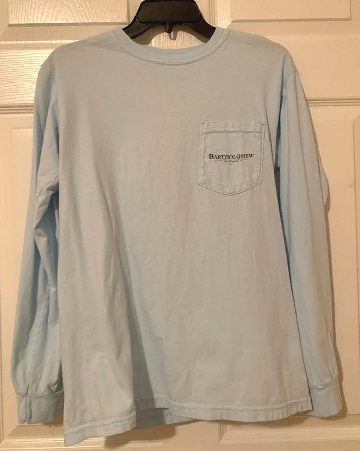 Comfort Colors Blue Long Sleeve T-Shirt
