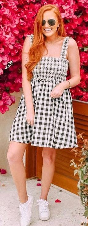 Amazon Gingham Dress