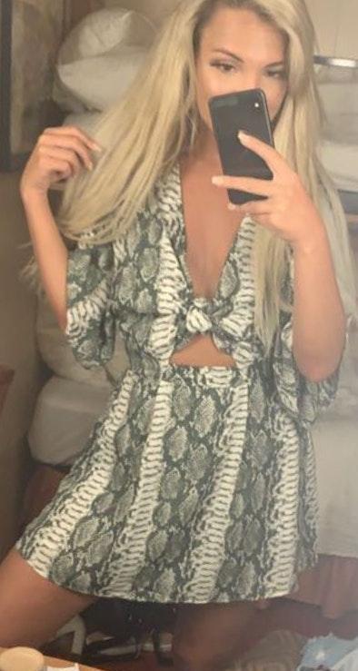 Rosie daze Snake Skin Dress