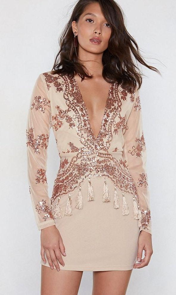 Nasty Gal How Low Can You Go Dress