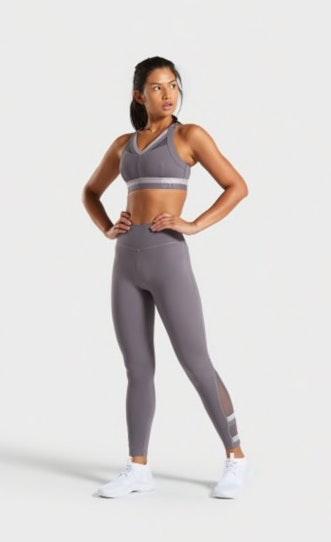 Gymshark Lavender Empower Sports Bra