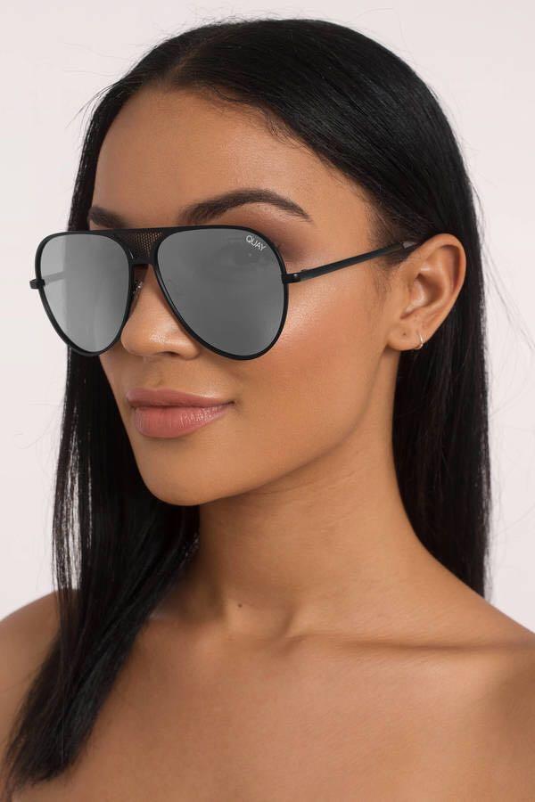 Quay Australia Quay x Kylie Aviator Sunglasses