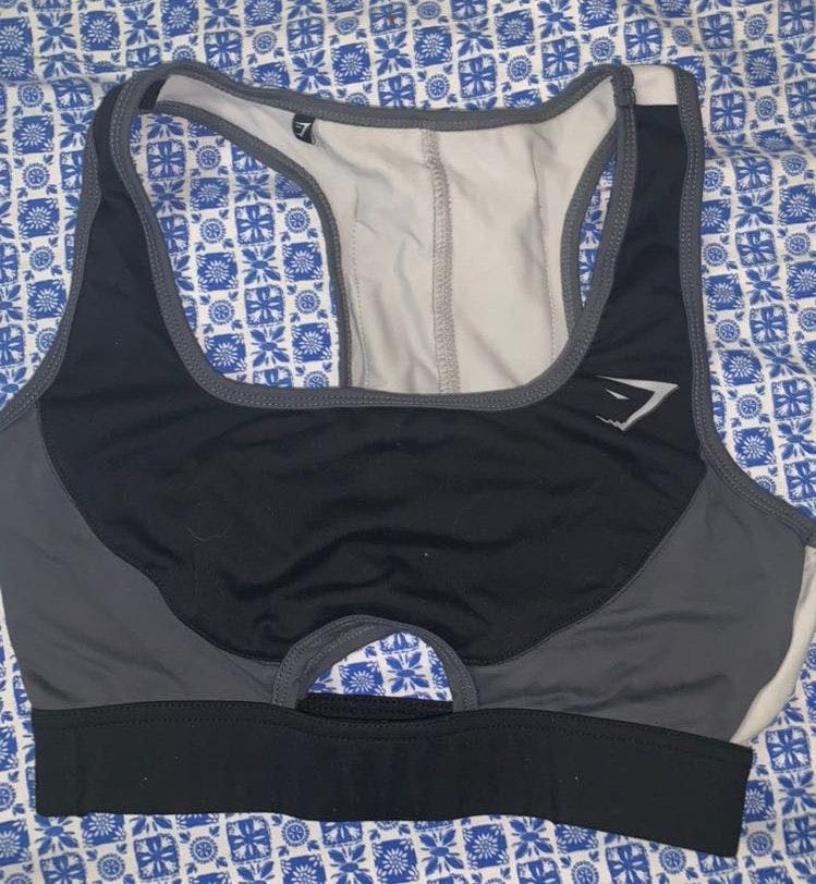 Gymshark Black Sports Bra