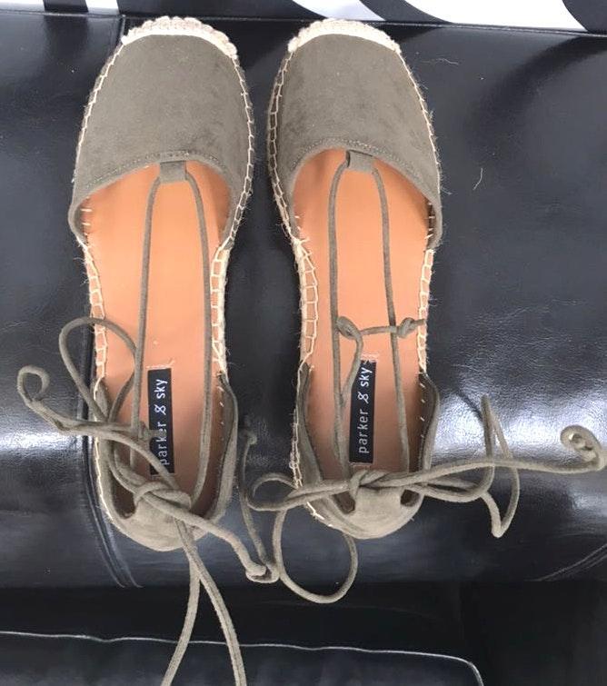 Parker & Sky Espadrille Sandals 7.5