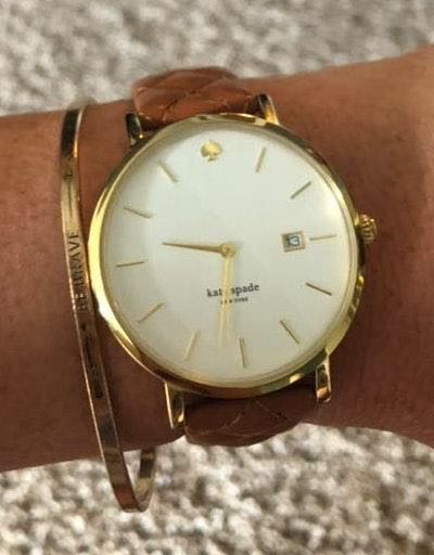 Kate Spade Leather Watch
