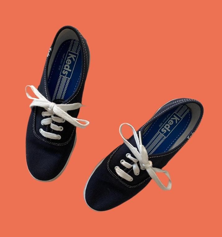 Keds Navy Blue \u0026 White | Curtsy