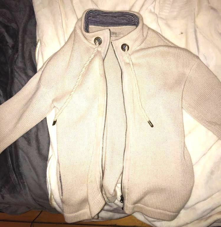 Loft Beige Zip Up
