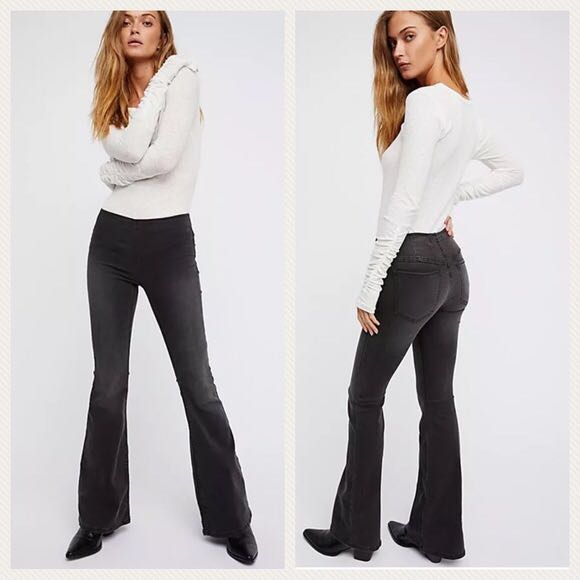 Free People Pull On Penny Flares