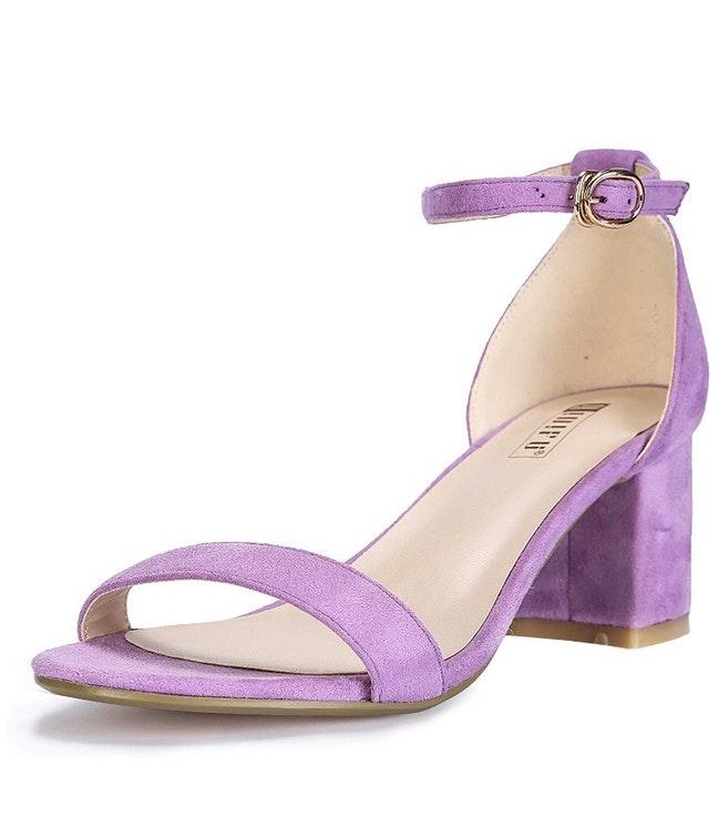 Purple 2 Inch Heels