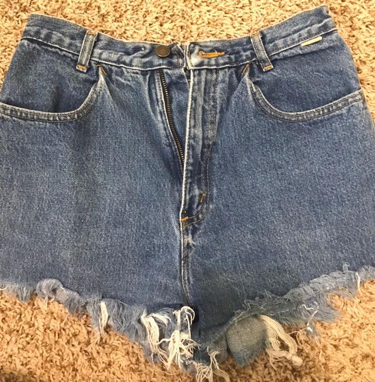 Spirit High Waist Denim Shorts