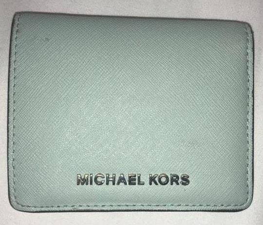 Michael Kors Teal Wallet