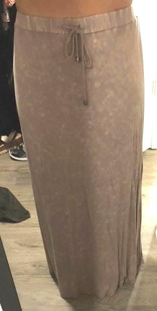 POL Neutral Maxi Skirt