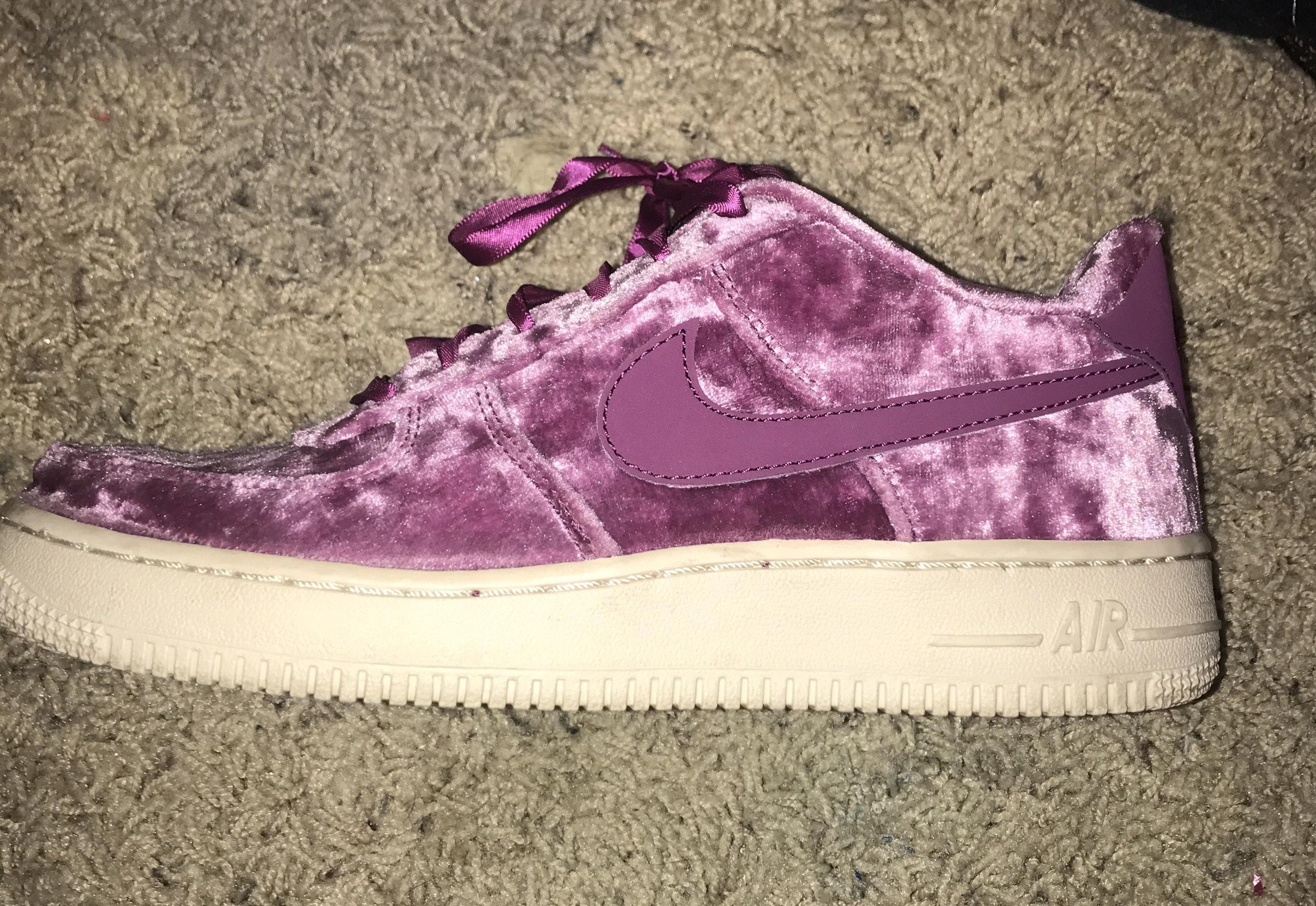 velvet air force 1 purple