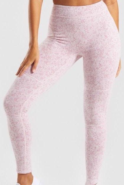 Gymshark Fleur Texture Leggings