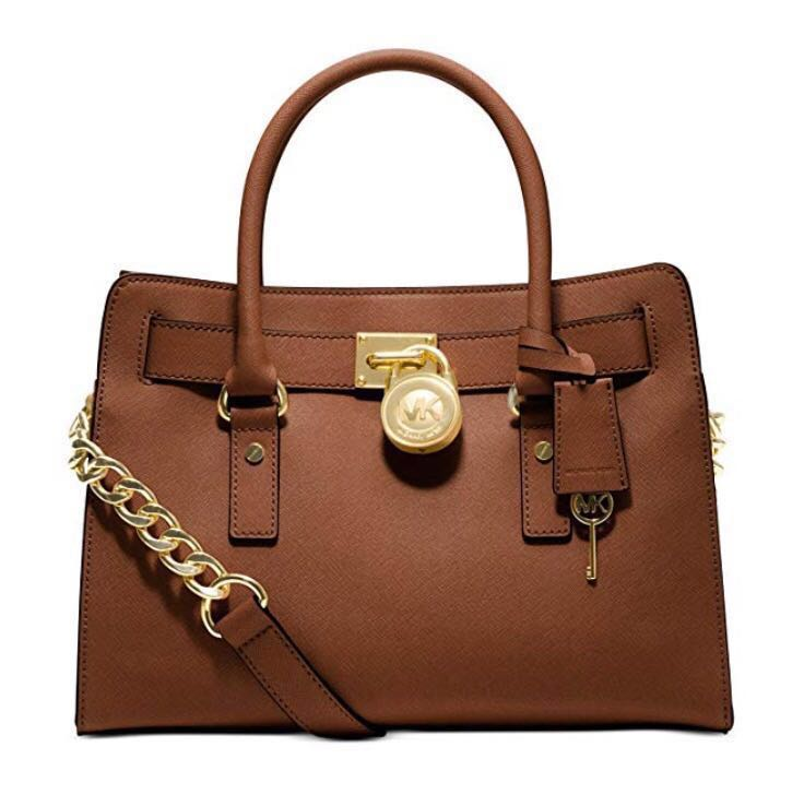 Michael Kors Tan Hamilton Tote Bag