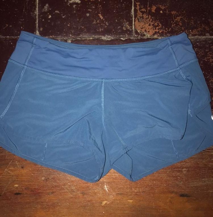 Lululemon Blue Lululemom Speed Shorts