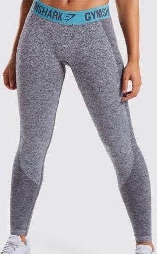 Gymshark Set- Flex Leggings And Crop Top