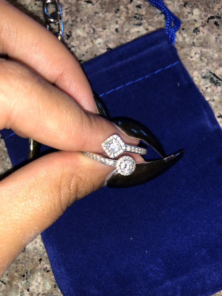 Pandora Size 8 Dual Ring