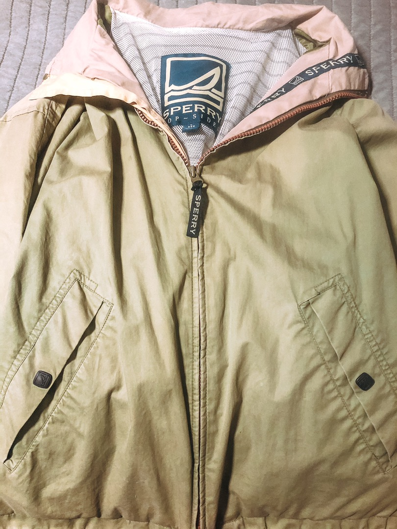 Sperry Top-Sider Jacket Olive Green