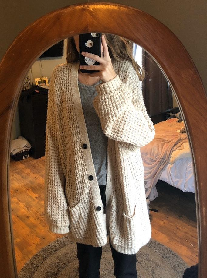 American Eagle Outfitters knitted cardigan