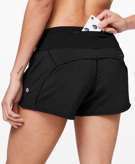 Lululemon Black Athletic Shorts