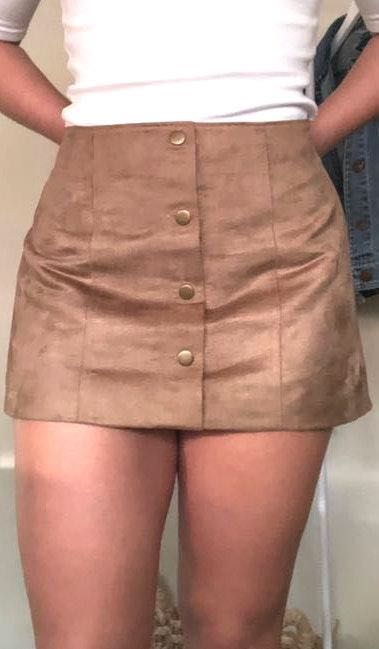 Gap Faux Suede Skirt