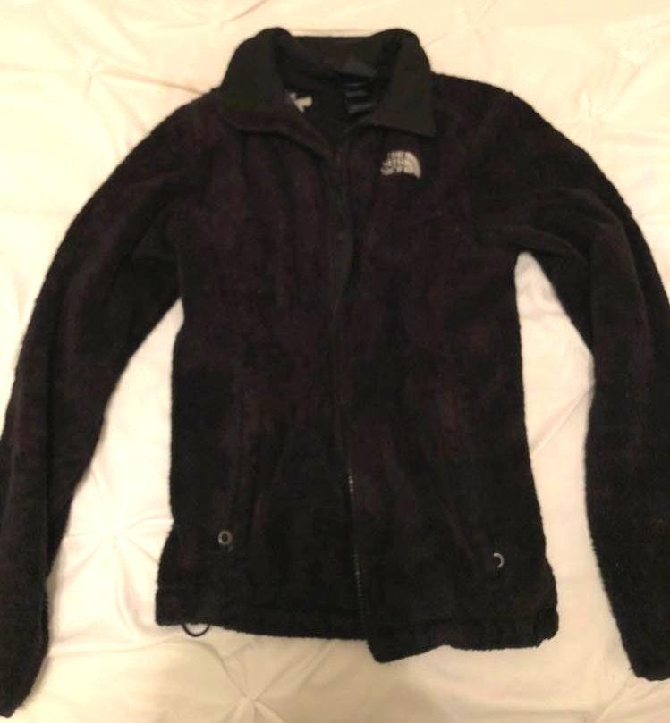 The North Face black north face jacket