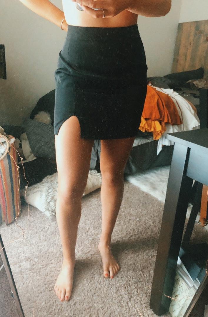 Princess Polly NWT  black skirt