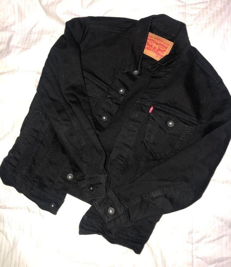 Levi's Black Jean Jacket