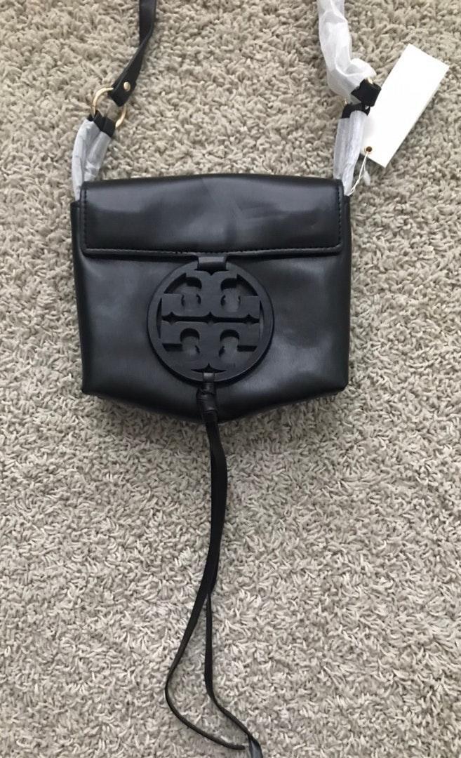 Tory Burch black miller crossbody bag