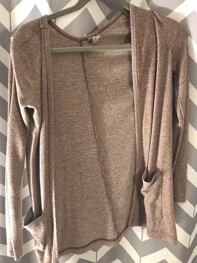 Aeropostale Brown Cardigan