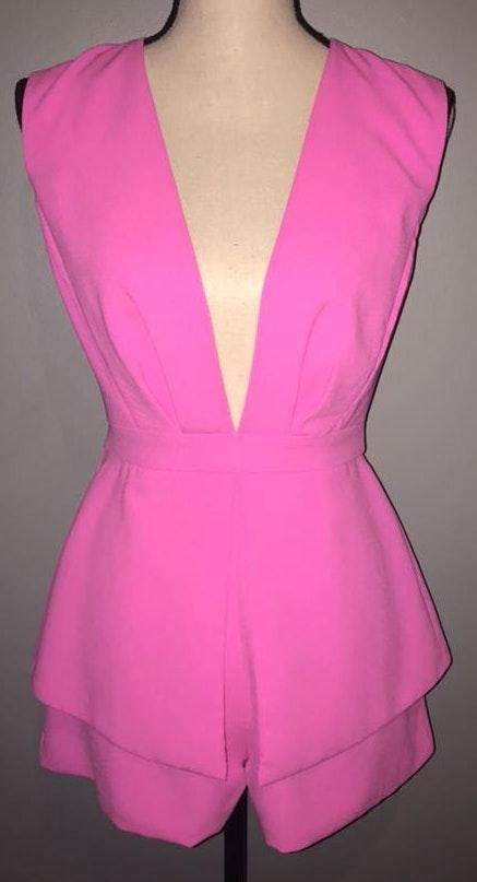 DO+BE Hot Pink Romper
