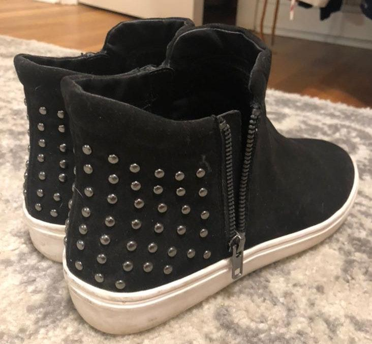 Steve Madden Studded High Top Sneakers