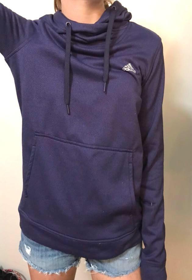 Adidas Purple Hoodie