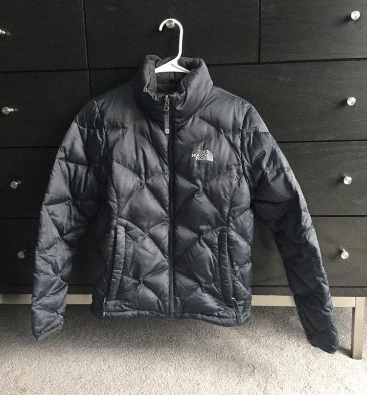 The North Face Dark Grey Winter Jacket